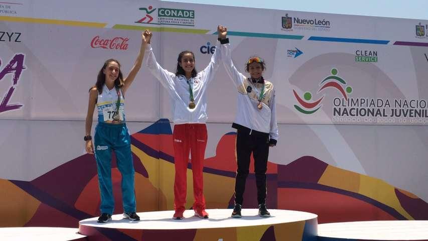 Gana oro la tlaxcalteca Maya Rivera en la Olimpiada Nacional