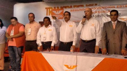 Reeligen a Refugio Rivas como dirigente estatal de Movimiento Ciudadano
