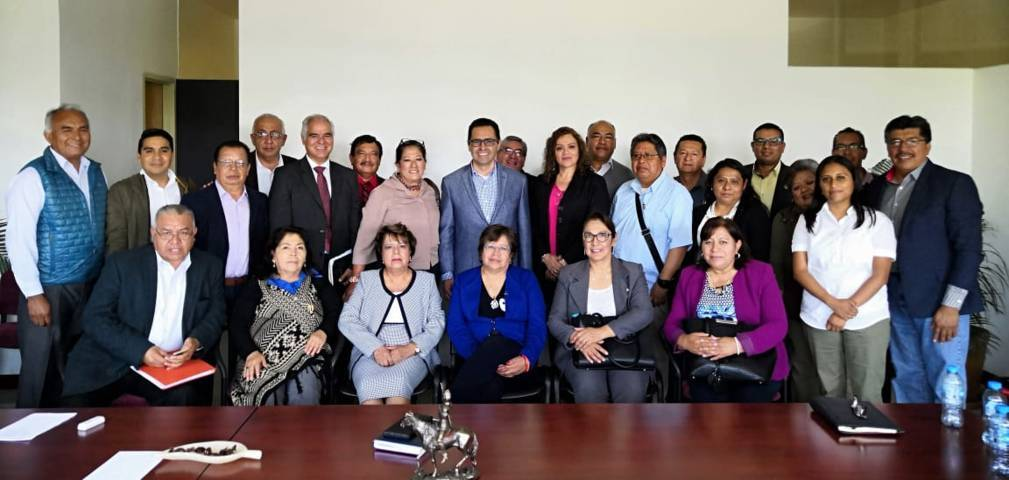 Se reúne Manuel Camacho Higareda con supervisores estatales