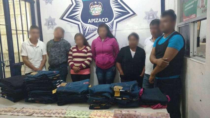 Cae banda de ''farderos'' en Apizaco