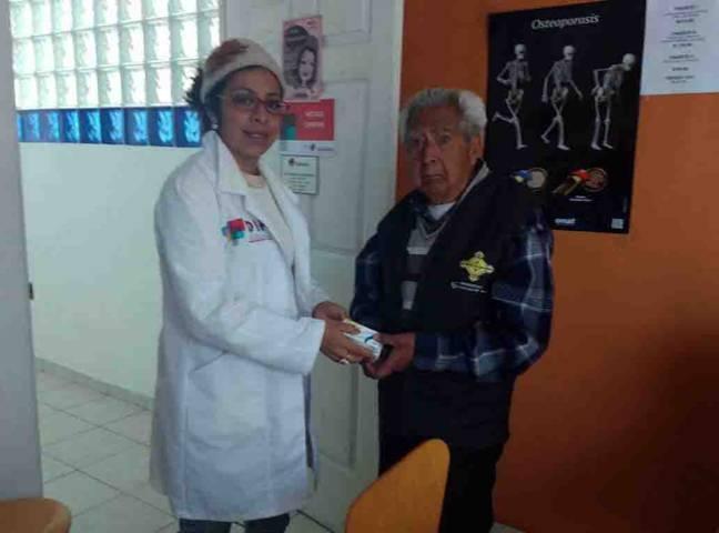 Promueven campaña de entrega de medicamentos gratuitos en la capital
