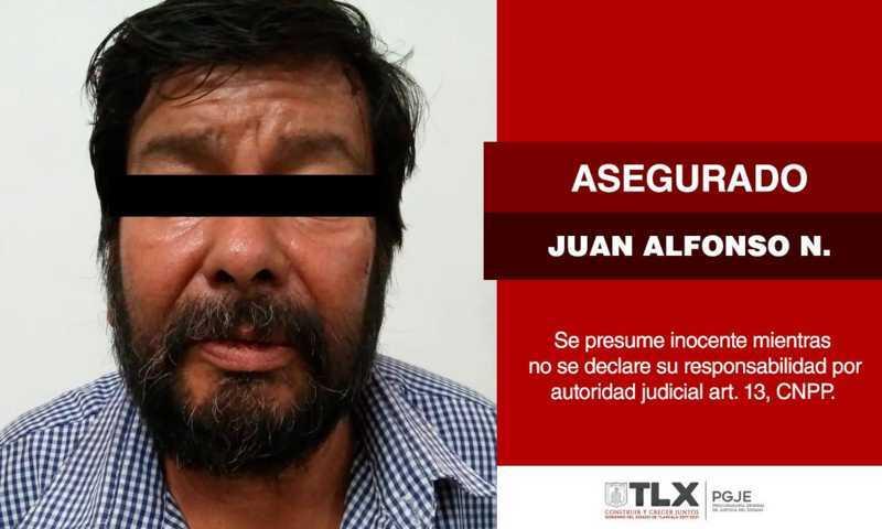 Aseguran a imputado en la Magdalena Tlaltelulco