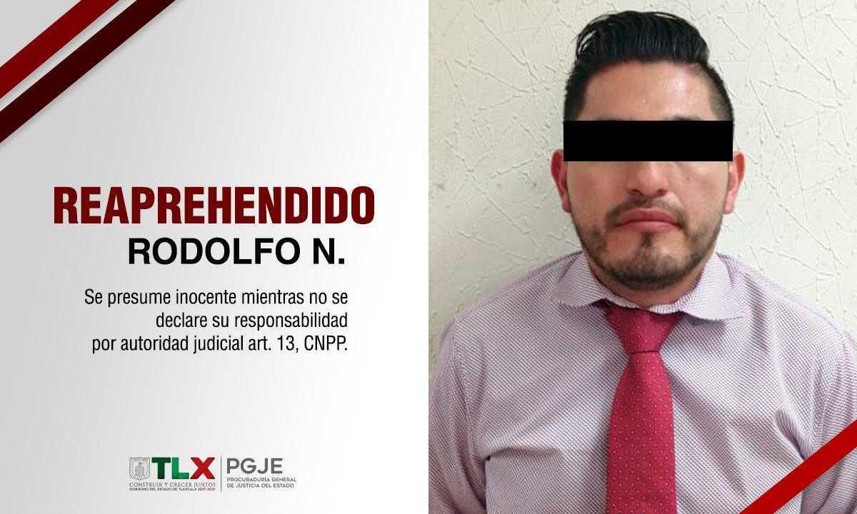 Reaprehenden a imputado por robo agravado y lesiones calificadas en Puebla