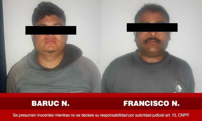 Capturan en Apetatitlán a dos imputados por robo calificado