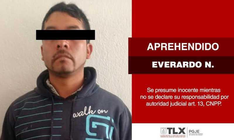 Es detenido un sujeto que violó a una niña hace cuatro años en Tlaxco