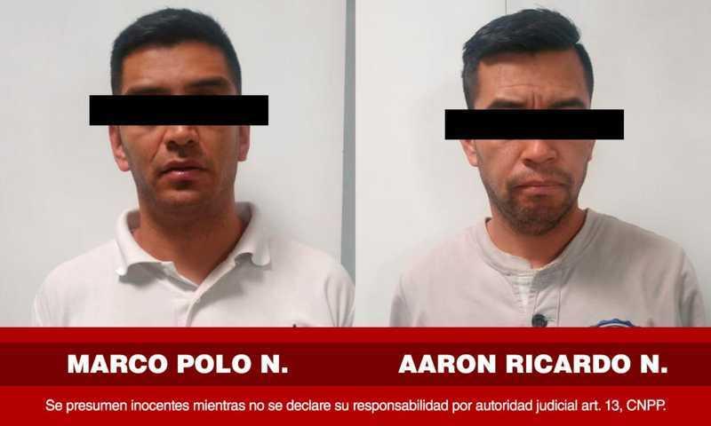 Aprehende PGJE a imputados por robo a cuentahabiente en CDMX y Guanajuato