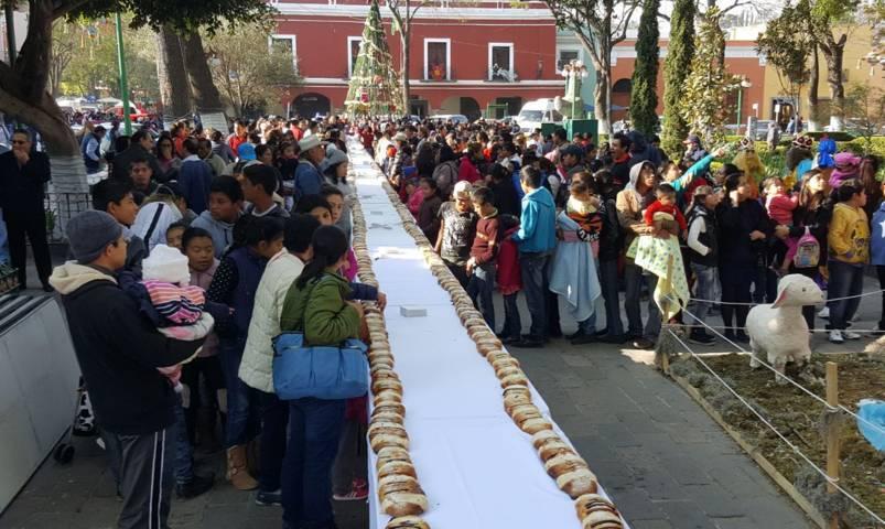 Partirán mega-rosca de Reyes de medio kilómetro en la capital