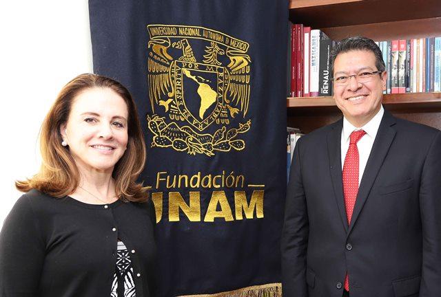 Pactan colaboración Fundación UNAM y gobierno de Tlaxcala