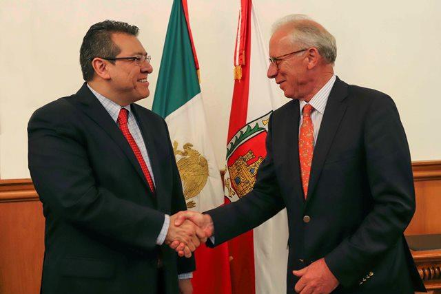 Fortalece Tlaxcala y Austria proyectos de inversión  en el estado