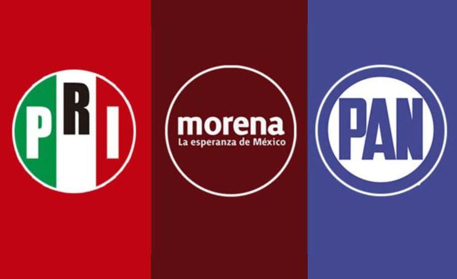 Inconformidad por repartición del botín en alianza del PRI, PAN y Morena