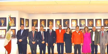Dirigencia del PRI y sus Gobernadores evalúan informe de AMLO