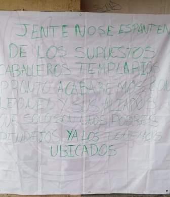 Piden no temer a supuestos Caballeros Templarios en Tlaxcala