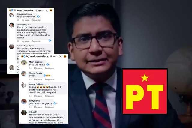Diputado meón anuncia nueva traición y lo tunden en redes sociales