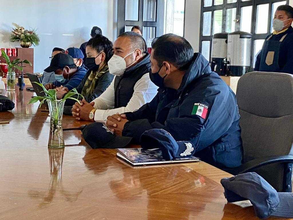 Refuerza Xicohtzinco estrategia de seguridad en el Sur