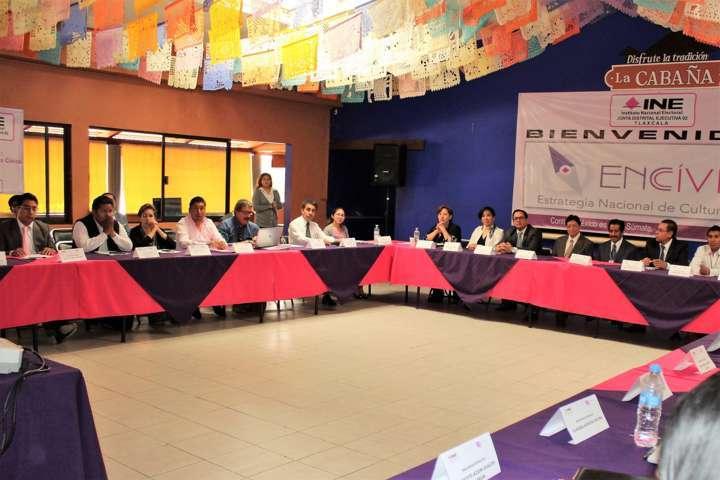 Amplia participación social en segunda mesa de diálogo del INE Tlaxcala