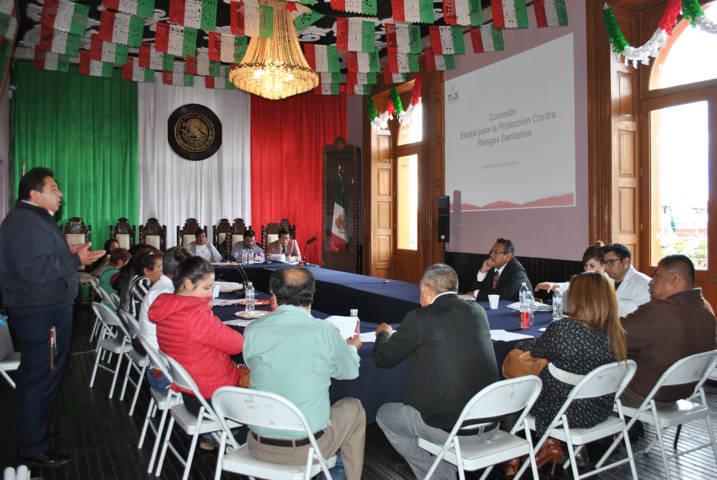 Calpulalpan sede de la reunión de prevención y riesgos por consumo de agua
