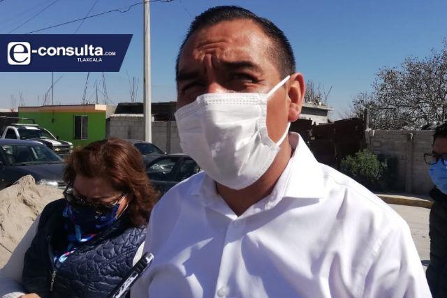 Anuncia Caballero Yonca la instalación de un sistema de videovigilancia en Ixtenco