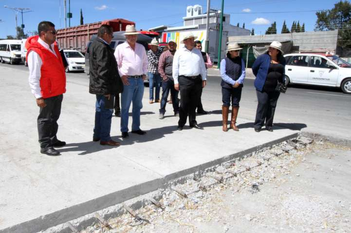Verifican mejora de imagen urbana en Calpulalpan