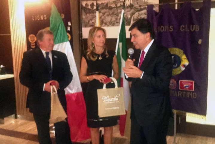 Fortalece Tlaxcala lazos culturales con Italia