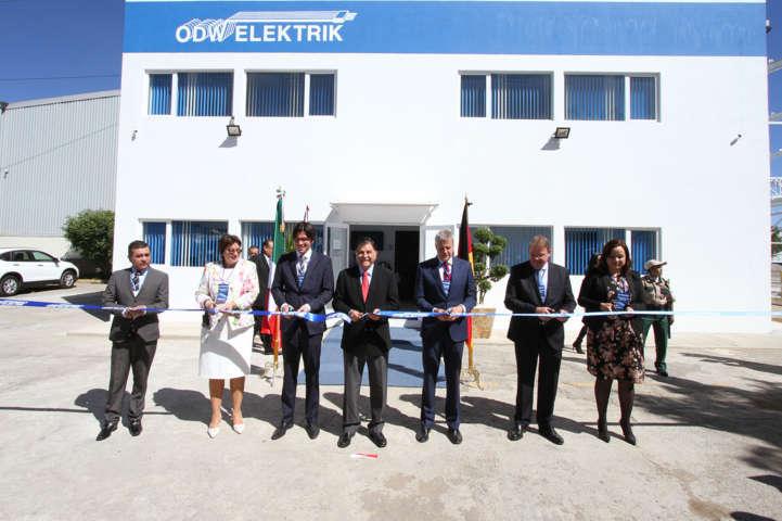 Inauguran planta de la empresa alemana ODW Electrik en Tetla