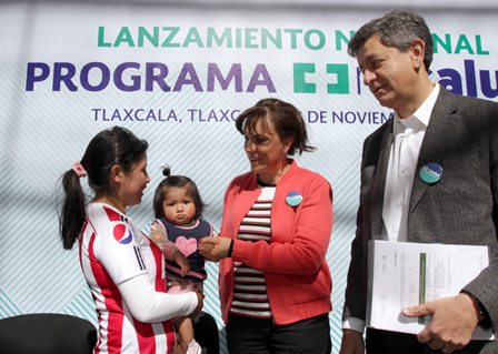 Lanzan  en Tlaxcala programa nacional Mi Salud