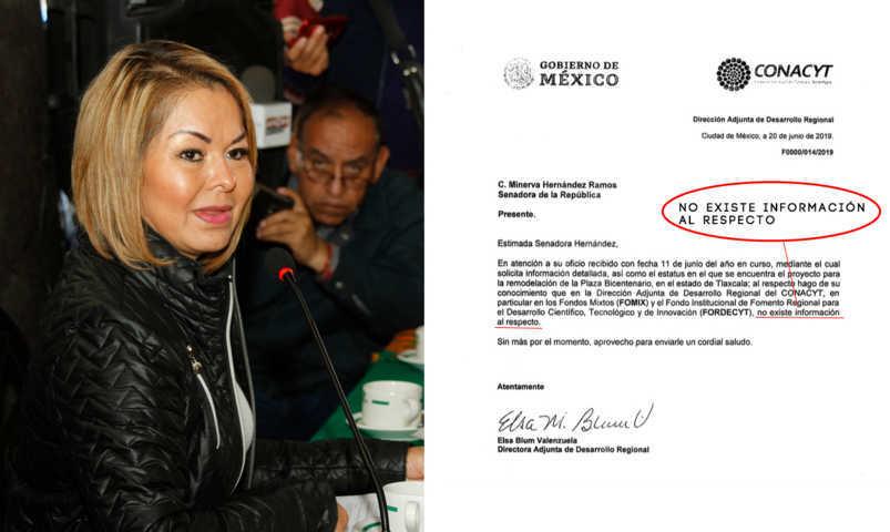 CONACYT sin Información del Proyecto de la Plaza Bicentenario; Gobierno calla ante solicitudes de información