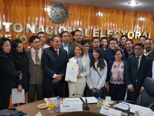 Reconoce Minerva Hernández que no tendrá fuerza en el Senado