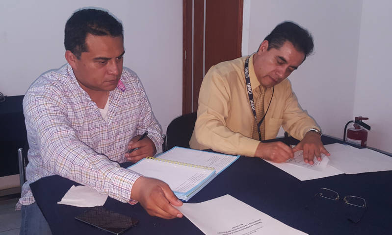 Firman Comuna de Tlaxcala e INEGI acuerdo en materia de seguridad