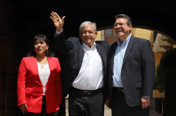 SE REÚNEN EL PRESIDENTE ELECTO, ANDRÉS MANUEL LÓPEZ OBRADOR Y MARCO MENA