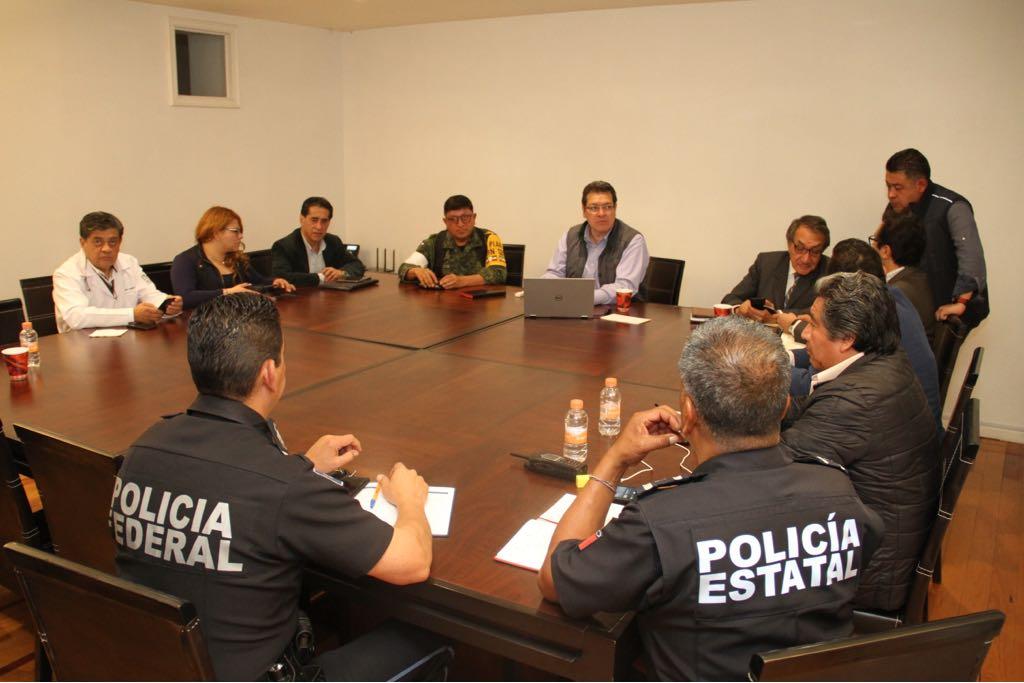 Saldo blanco en Tlaxcala tras sismo, confirma el gobernador Mena