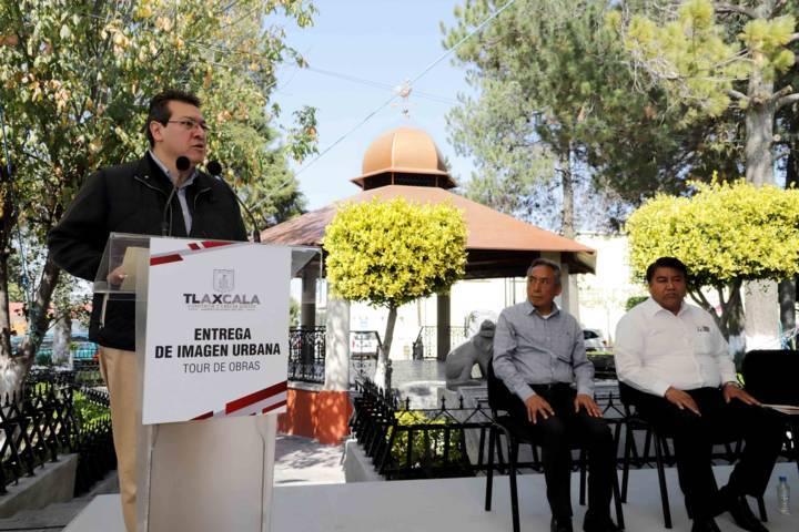 Entrega Marco Mena imagen urbana de la Magdalena Tlaltelulco por 38.5 mdp
