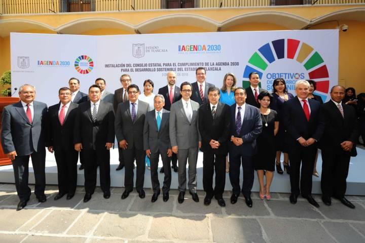 Instalan Consejo Estatal para el cumplimiento de la agenda 2030