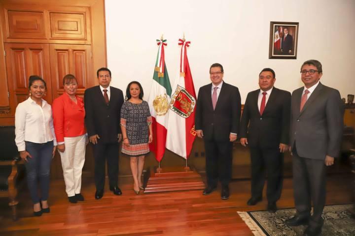 Reitera Marco Mena relación de trabajo con Congreso Del Estado