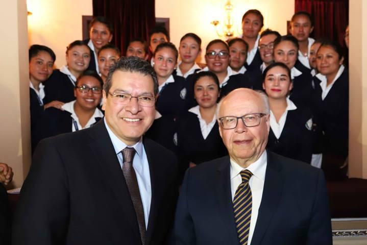 Marco Mena y José Narro inauguran reunión del CMAM