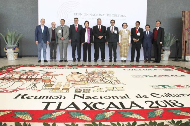 Tlaxcala, sede de la Reunión Nacional de Cultura 2018