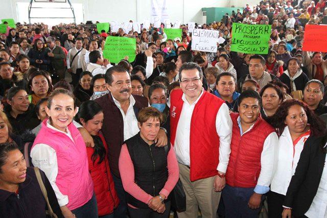 Prospera beneficia a 66 mil familias tlaxcaltecas: gobernador
