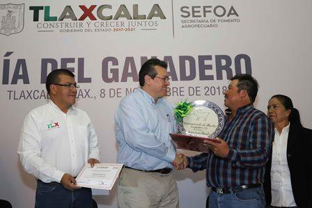 Gobierno de Marco Mena respalda al sector ganadero con hechos