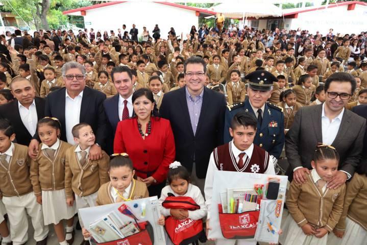 Educación y cultura, pinza de trabajo para Tlaxcala: Marco Mena