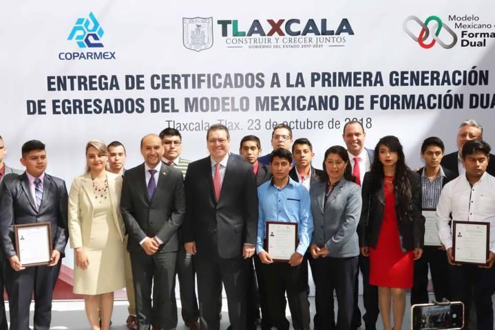 """Respaldará Tlaxcala programa federal """"Jóvenes Construyendo El Futuro"""": Marco Mena"""