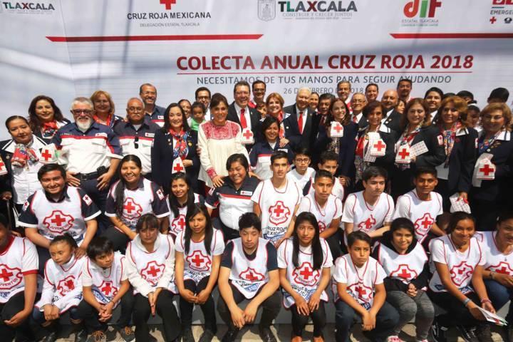 Inicia colecta 2018 de la Cruz Roja