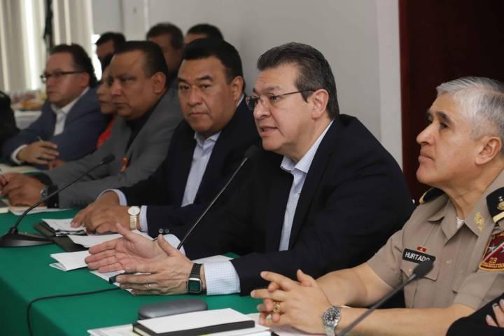 Marco Mena convoca a reunión para conocer próximas estrategias federales de seguridad