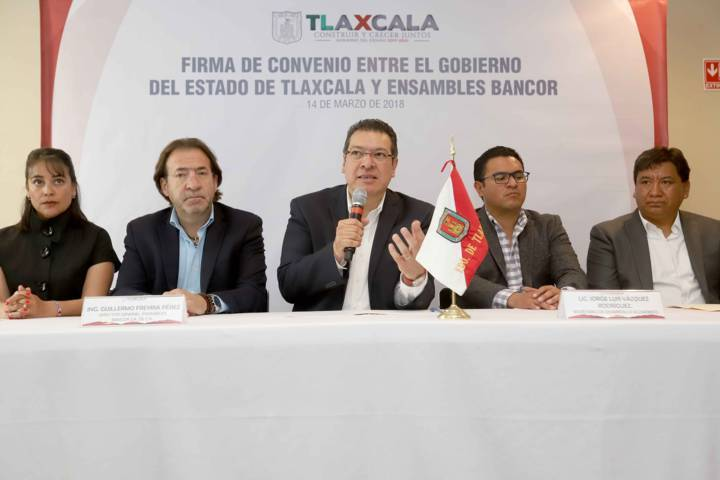 Firman Gobierno del Estado y Ensambles Bancor convenio para reinstalar la empresa en Tlaxcala