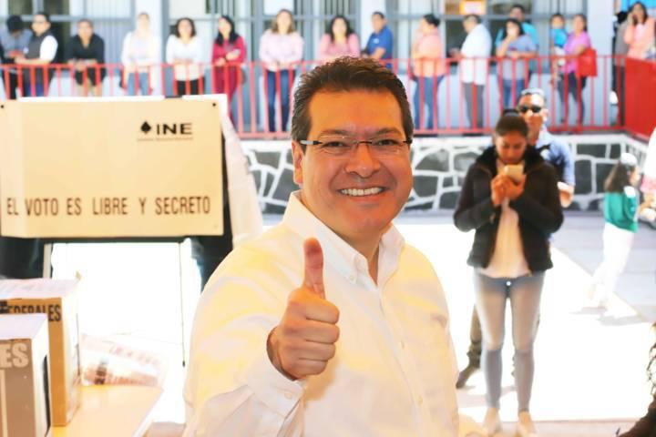 Jornada Electoral transcurre en paz y libertad: Marco Mena
