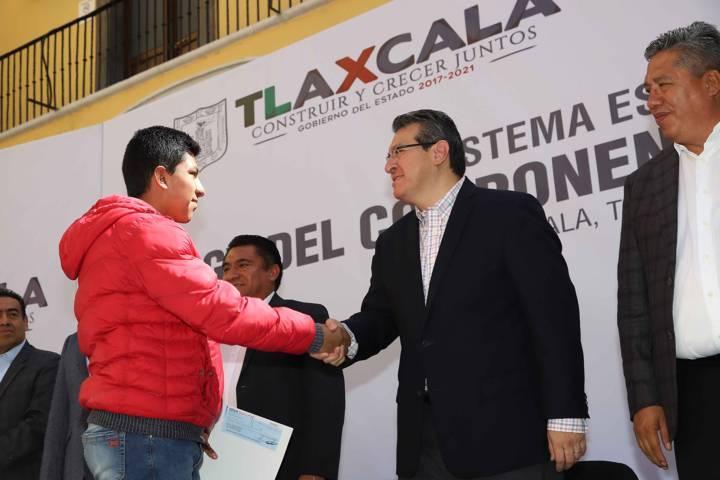 Por primera vez En Tlaxcala se generan 100 Mil Empleos Formales: Marco Mena