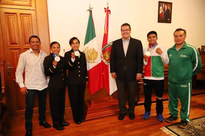 Destaca Marco Mena triunfos de tlaxcaltecas en Barranquilla 2018