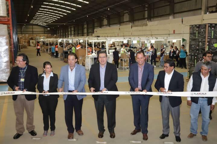 Inaugura Marco Mena empresa ensambles con inversión de 60 mdp