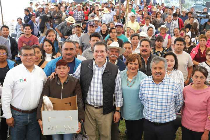 Crecimiento económico de Tlaxcala es esfuerzo de todos: Marco Mena