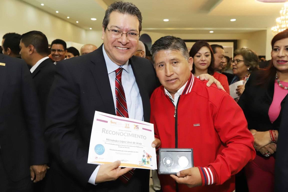 Educación, esencial para consolidar crecimiento de Tlaxcala: Marco Mena
