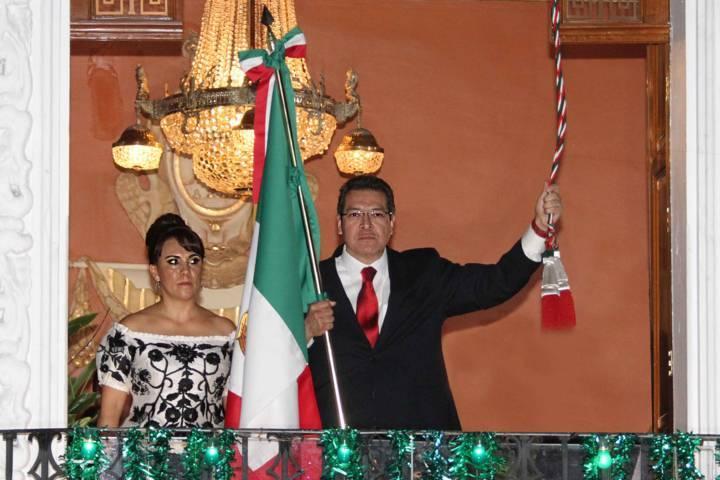 Marco Mena encabeza Ceremonia del Grito de Independencia