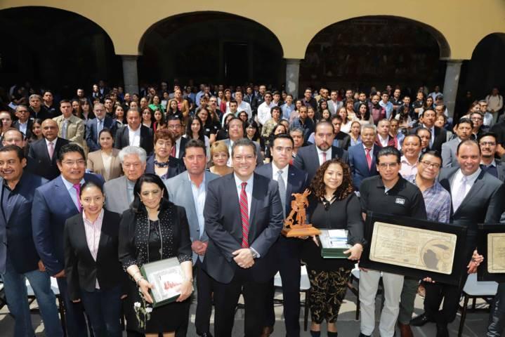 Entrega Marco Mena Premio Tlaxcala a la Competitividad 2019